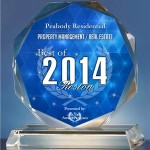 Peabody Residential Awarded For Its Excellent Services As It Registers 2014 Success