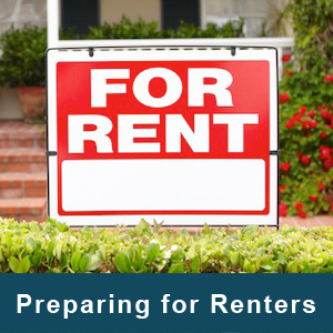 preparing a home for renters