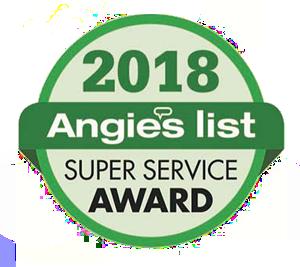 2018 Angies List Super Service Award