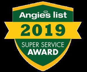 Peabody 2019 Angies List Super Service Award