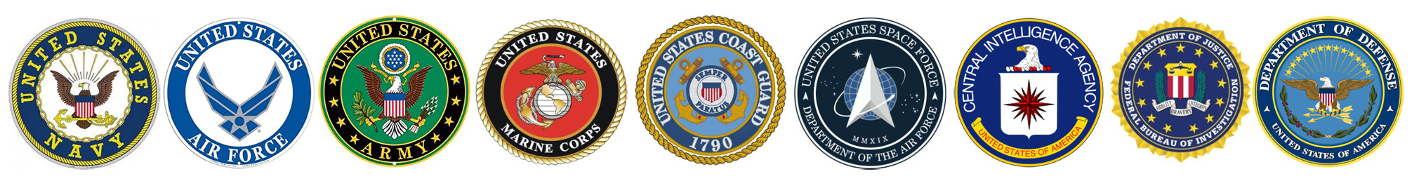 Government and military seals
